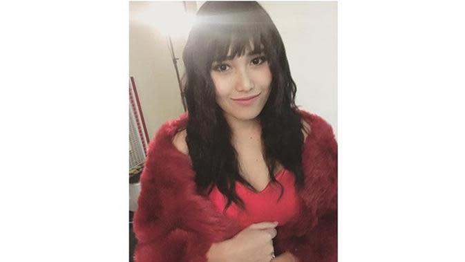 Disebut Mirip Lucinta Luna, Ini 6 Gaya Rambut Trendi Ayu Ting Ting (sumber: Instagram.com/ayutingting92)