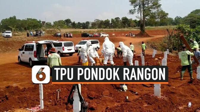 VIDEO: Tampung Lebih Banyak Jenazah Covid-19, TMP Pondok Rangon Diperluas