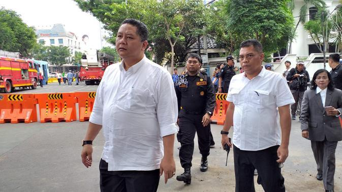 Wakil Wali Kota Surabaya Wisnu Sakti Buana Jalani Tes Swab COVID-19