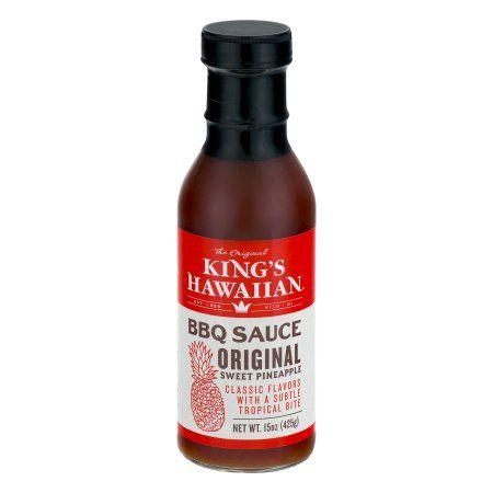 """<p>A barbecue sauce for fans of sweet stuff. This sauce has nice balance, with a strong pineapple flavor. If you're looking for a sauce with tropical vibes, look no further.</p><p><a class=""""body-btn-link"""" href=""""https://go.redirectingat.com?id=74968X1596630&url=https%3A%2F%2Fwww.instacart.com%2Fproducts%2F3392733-king-s-hawaiian-the-original-sweet-pineapple-bbq-sauce-15-oz&sref=https%3A%2F%2Fwww.delish.com%2Fcooking%2Fg20748013%2Fbest-barbecue-bbq-sauces-ranked%2F"""">BUY NOW</a>  <strong>King's Hawaiian Original BBQ Sauce, $6</strong></p>"""