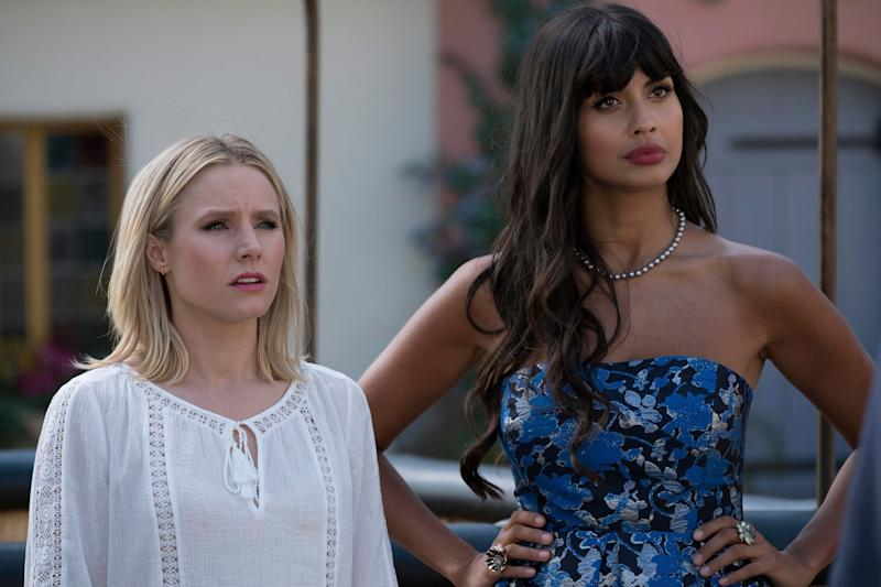 Jameela Jamil was backing The Good Place (NBC)