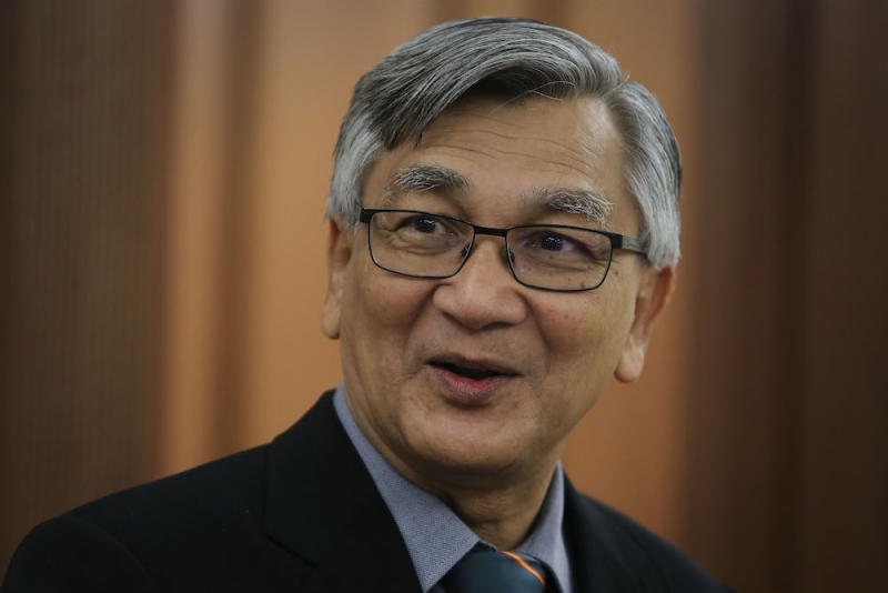 Mohamad Ariff has replaced the PM as the keynote speaker at Suhakam's Human Rights Day event. — Picture by Yusof Mat Isa