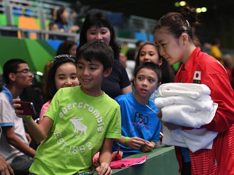 代表日本發光發熱  掀起日本桌球熱潮