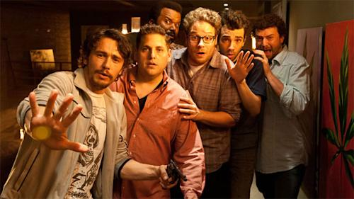'This Is the End' First Clip: 'I Don't Want to Die at James Franco's House'