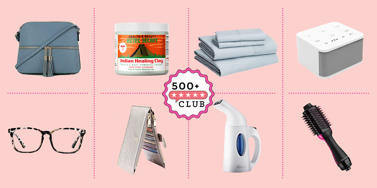 """<p><em>The 500+ Club helps take the guesswork out of shopping on Amazon. The product experts at </em>Good Housekeeping<em> have vetted the below products to ensure they're worth your money. Each one boasts at least 500 reviews and a minimum 4-star rating from real, verified reviewers, so you can trust that you're purchasing products that actually work, according to users and experts.</em></p><p>With so much inventory on Amazon, it can be hard to find what's actually worth it. Fortunately, Amazon updates lists of <strong><a href=""""https://www.amazon.com/Best-Sellers/zgbs/ref=zg_bs_unv_t_0_t_1?tag=syn-yahoo-20&ascsubtag=%5Bartid%7C10055.g.26327540%5Bsrc%7Cyahoo-us"""" target=""""_blank"""">top-selling products</a></strong> hourly. These favorite Amazon items have been reviewed thousands of times or earned the title of Amazon's Choice. </p><p>Whether you're just nosey about what everyone else is buying (no shame) or looking for the best deals to shop, get ideas from this list of Amazon's best-selling items, ranging from <a href=""""https://www.goodhousekeeping.com/home/organizing/g27075532/best-selling-organizing-products-amazon/"""" target=""""_blank"""">home organizers</a>, <a href=""""https://www.goodhousekeeping.com/beauty/fashion/a29801017/top-amazon-fashion-review/"""" target=""""_blank"""">top-rated fashion pieces</a>, <a href=""""https://www.goodhousekeeping.com/life/entertainment/g29811033/best-selling-books-2019/"""" target=""""_blank"""">cult-favorite books</a>, and <a href=""""https://www.goodhousekeeping.com/beauty/anti-aging/g26763546/best-selling-face-masks-amazon/"""" target=""""_blank"""">game-changing beauty finds</a>. Before you shop, make sure you sign up for <a href=""""https://www.goodhousekeeping.com/life/money/a22104213/amazon-prime-worth-it/"""" target=""""_blank"""">Amazon Prime</a> for <a href=""""https://www.goodhousekeeping.com/life/money/a38620/amazon-prime-perks/"""" target=""""_blank"""">tons of perks</a>! </p>"""