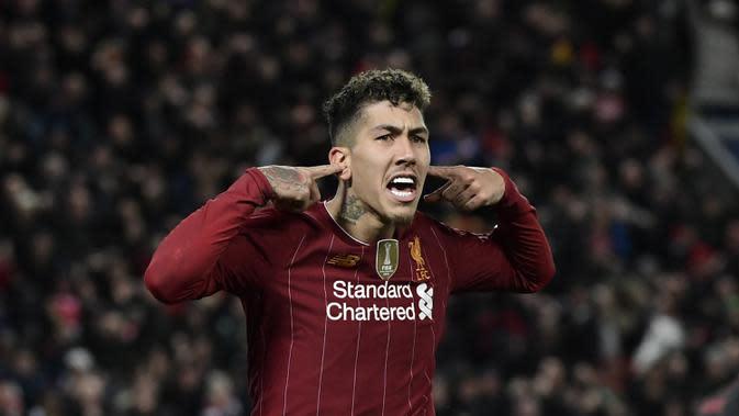 Liverpool Juara Liga Inggris, Roberto Firmino Langsung Ganti Gaya Rambut