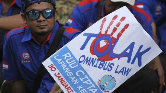 Demo Omnibus Law, Massa Buruh Mau Kepung Istana