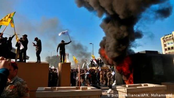 Dilema Sulit Irak Hadapi Milisi Bersenjata Pro-Iran