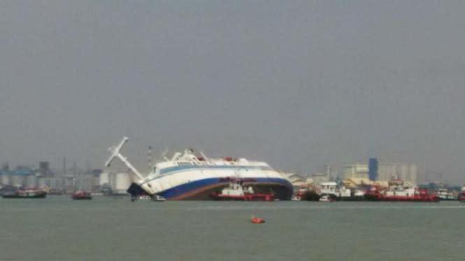 Ngeri, Dua Kapal Motor Tabrakan di Sibolga buat Satu ABK Tewas