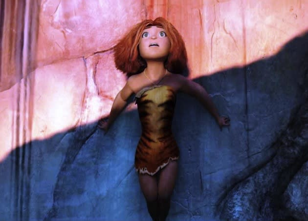 REVIEW: 'The Croods' Can't Get Its Knuckles Off The Ground Thanks To Primitive Storytelling