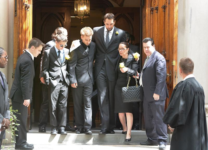 Ryan Anderson Attends Gia Allemand's Funeral With Her Mother