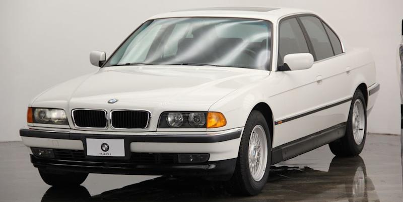 Capitalize On Cheap 90s Bmw Prices With This Super Clean 7 Series