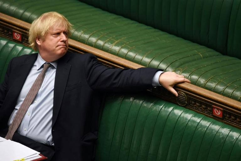 """British PM Boris Johnson said """"that racism, racist violence has no place in our society"""""""