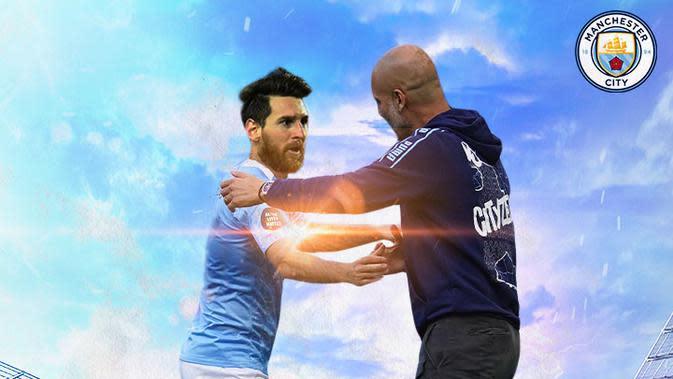 Liga Inggris: Akhirnya, Pep Guardiola Angkat Bicara Lionel Messi Gagal Hengkang ke Manchester City