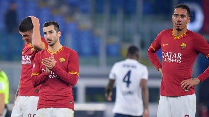 Betah di Roma, Mkhitaryan Ogah Balik ke Arsenal