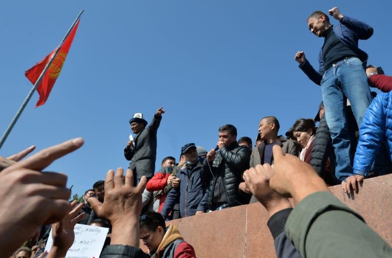Feuding presidents fuel Kyrgyz unrest