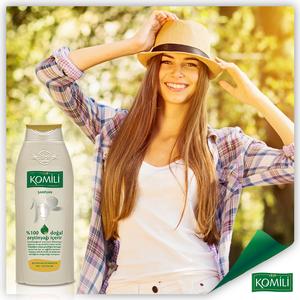 KOMILI 橄欖油成份洗髮水-纖細髮質 400毫升
