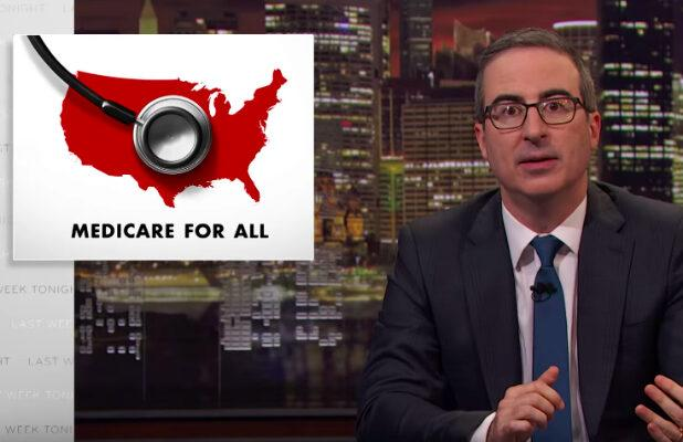 John Oliver Shoots His Shot on Medicare for All – at the Expense of Solange Knowles (Video)