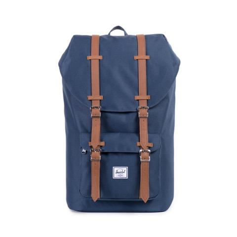 """<p>For the guys in your life that commute on a daily basis, a stylish backpack is always a great gift idea. Source: <a rel=""""nofollow"""" href=""""https://www.davidjones.com/bags-and-accessories/mens-bags/backpacks/20267581/Little-America-Backpack.html"""">David Jones</a> </p>"""