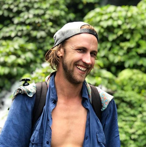 Western Australia man Luke Bevan smiles at the camera, wearing a backwards cap.