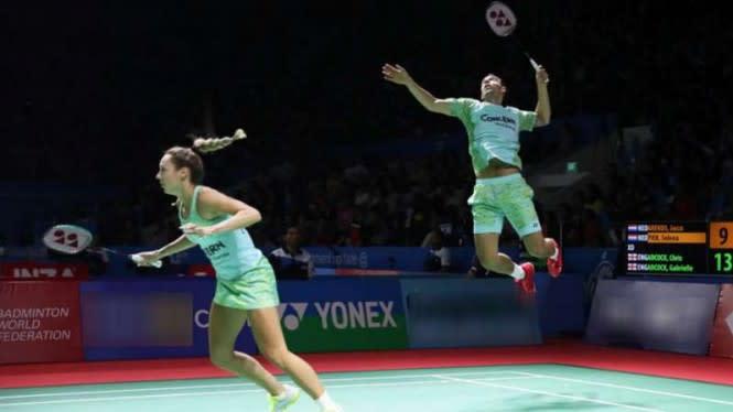 Tak Terbendung, Suami-Istri Asal Inggris ke Semifinal Denmark Open