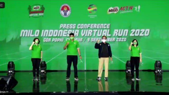 Bertepatan Haornas 2020, Milo Gelar Lomba Lari Virtual