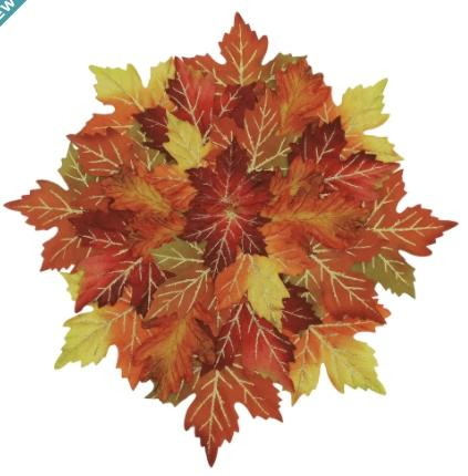 Thanksgiving Fall Leaves Placemat. (Image via Michaels)