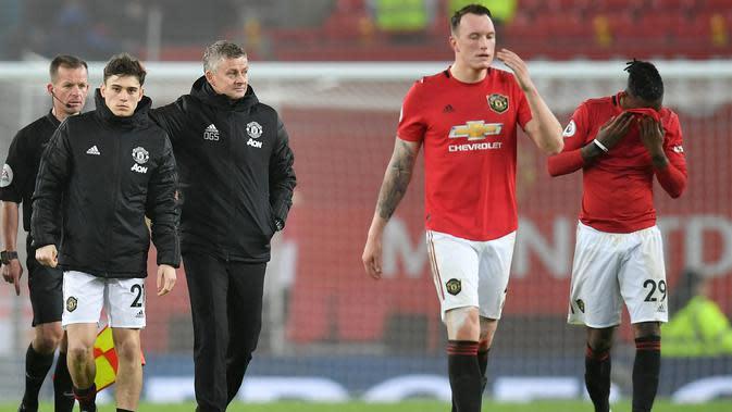 Manchester United Kalah dari Liverpool dan Burnley, Solskjaer Optimistis Tembus 4 Besar