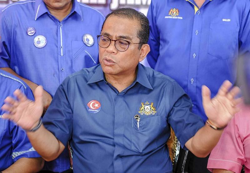 Datuk Seri Mohamed Khaled Nordin says Umno will not accept any concept that does not have Islam and the Malay culture at its heart. — Picture by Firdaus Latif