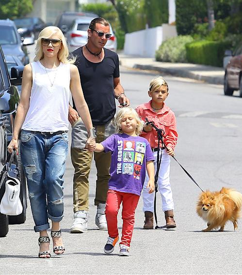 Gwen Stefani & Family Attend Honor Warren's Birthday Party