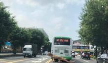 台南街頭有恐龍過馬路?網一看全嚇歪