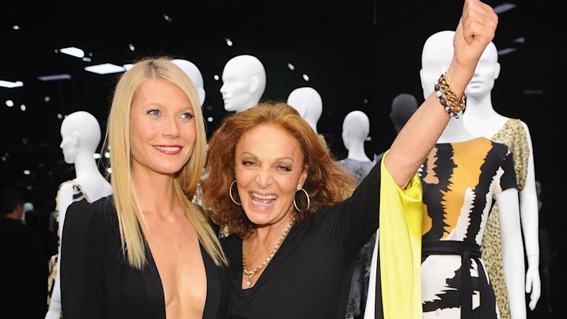 Diane von Furstenberg Parties with Hollywood's Finest Before the Golden Globes