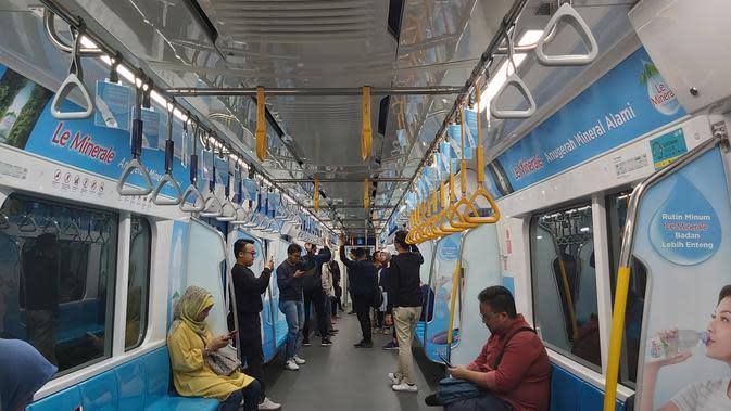 Ikuti Protokol Kesehatan dan PSBB, Operasional MRT Saat Lebaran Tak Berubah