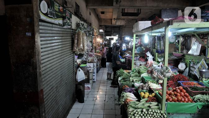 PSBB Jakarta Diperketat, Anies Minta Pasar Tak Naikkan Harga