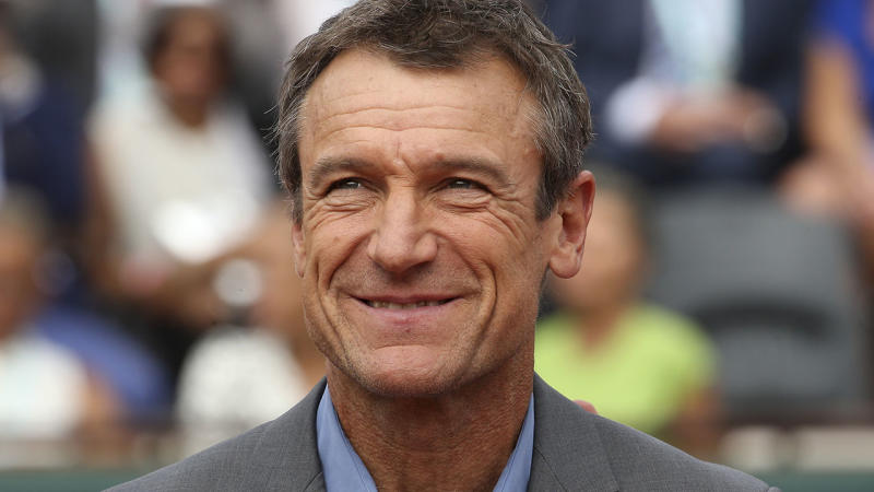 Mats Wilander, pictured here at the French Open in 2018.