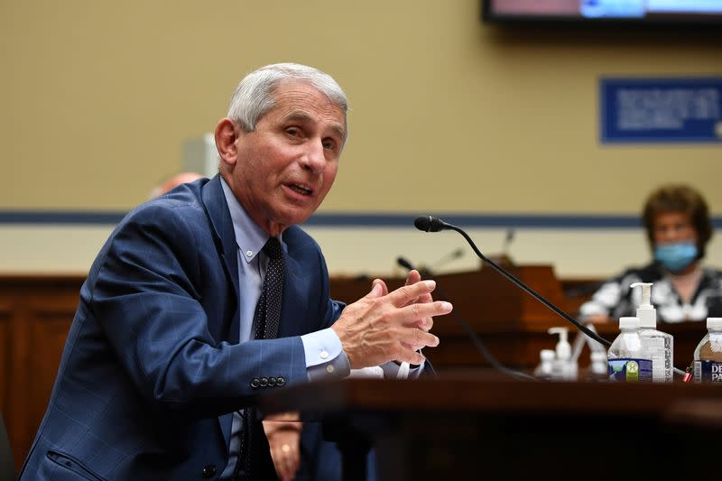 Unlikely that a COVID-19 vaccine will be ready in Oct., but not impossible - Fauci