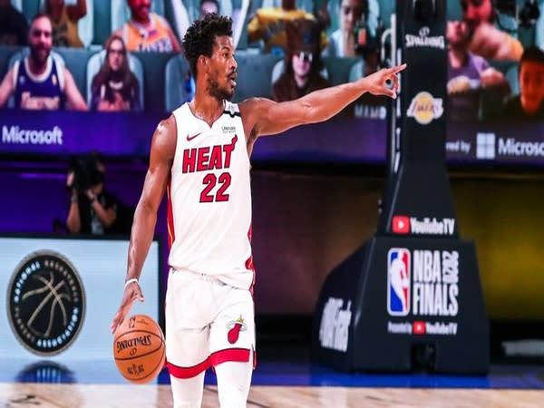Miami Heat's Jimmy Butler (Photo/ Miami Heat Twitter)
