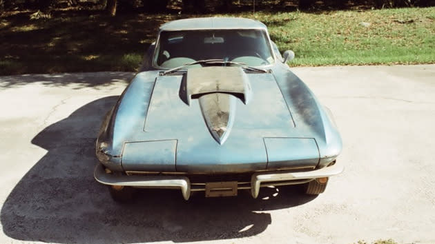 Neil Armstrong's 1967 Corvette Sting Ray for sale as ultimate barn find