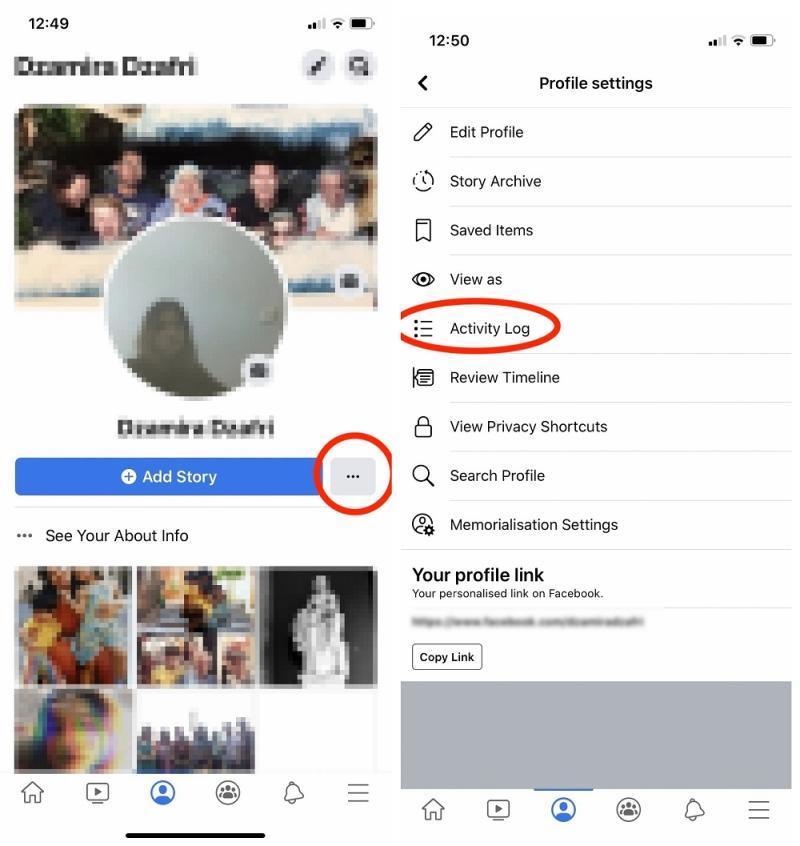 Facebook has introduced a new privacy control tool, Manage Activity. — SoyaCincau pic