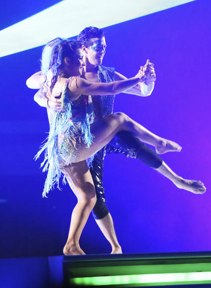 Alexandra Raisman and Mark Ballas (5/20/13)