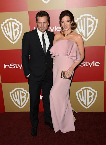 14th Annual Warner Bros. And InStyle Golden Globe Awards After Party - Arrivals: Len Wiseman and Kate Beckinsale