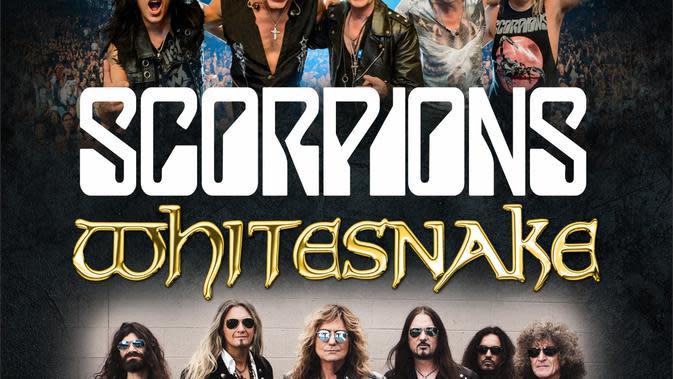 Scorpions dan Whitesnake akan menjadi bintang utama dalam JogjaROCKarta #4 pada Maret 2020 mendatang. (Rajawali Indonesia)