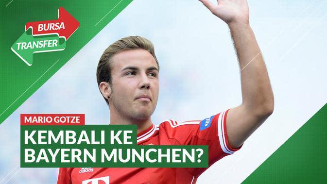 VIDEO Bursa Transfer: Dapat Telepon dari Hansi Flick, Mario Gotze Bakal Kembali ke Bayern Munchen?