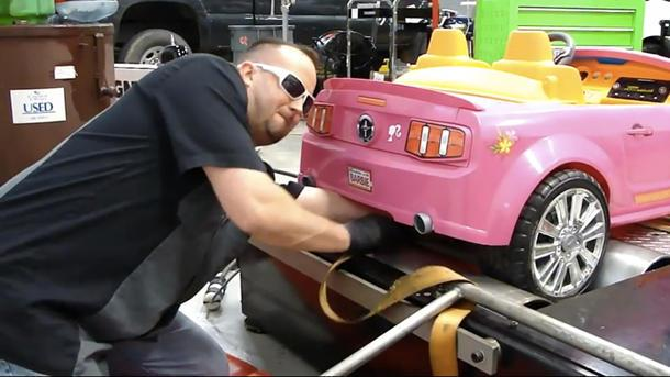 Barbie's Mustang gets the dyno test it's long deserved