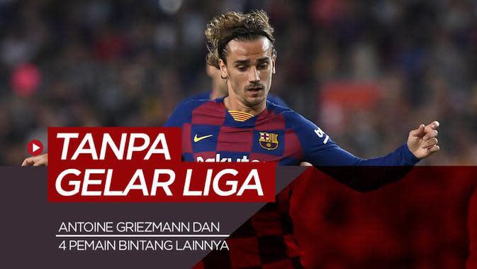 MOTION GRAFIS: Antoine Griezmann dan 4 Bintang Sepak Bola yang Belum Raih Gelar Liga, Pemain Arsenal di Antaranya