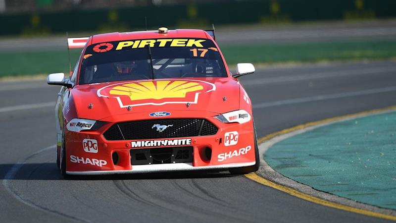 Reigning champion Scott McLaughlin continued his Supercars dominance at the Australian Grand Prix