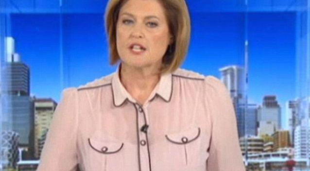 ABC newsreader's unfortunate fashion fail leaves viewers in