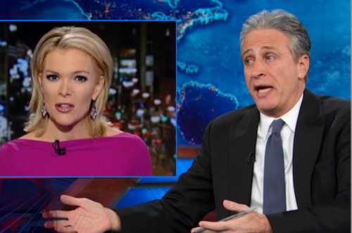 Jon Stewart Apologizes to Megyn Kelly, Fox News for White Santa Jokes (Video)