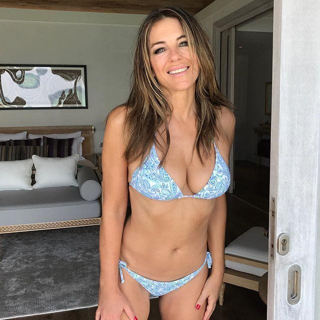 <p>It's always bikini season for 53-year-old who is her brand's own best ambassador. Source: Instagram/ Elizabeth Hurley </p>