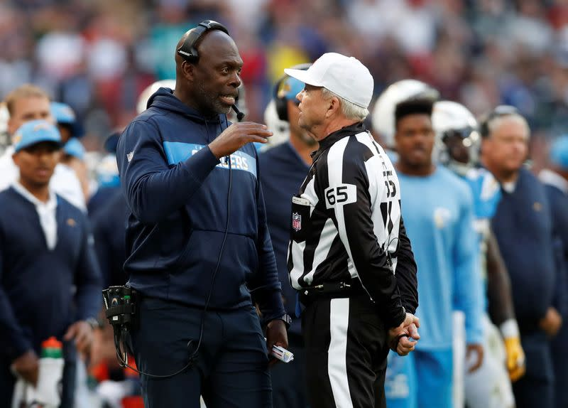 Chargers coach Lynn says he had COVID-19